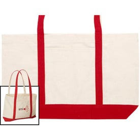 Shoreline Cotton Tote with Your Logo