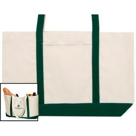 Customized Shoreline Cotton Tote