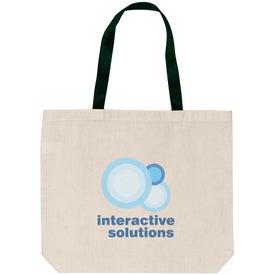 Monogrammed Shoulder Tote Bag