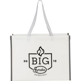 Sidekick Matte Laminated Shopper Totes