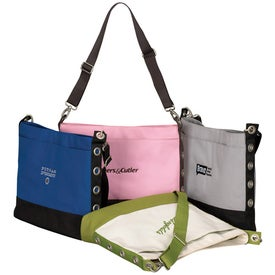Advertising Sideline Grommet Tote Bag