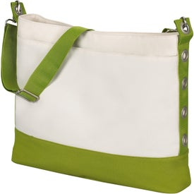 Sideline Grommet Tote Bag Branded with Your Logo