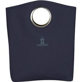 Printed Signature Grommet Tote Bag