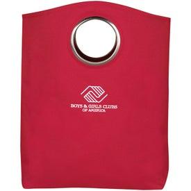 Imprinted Signature Grommet Tote Bag