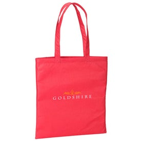 Monogrammed Simple Recycled Tote