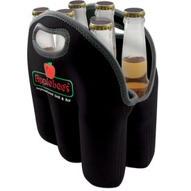 Six Bottle Beer Tote for Promotion