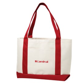 Imprinted Small Boat Tote