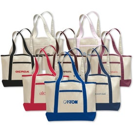 Small Canvas Deluxe Tote Bag