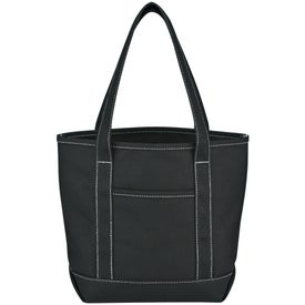 Small Cotton Canvas Yacht Tote for Advertising