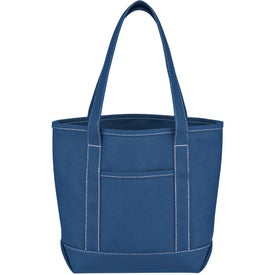 Small Cotton Canvas Yacht Tote for Promotion