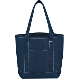 Logo Small Cotton Canvas Yacht Tote