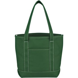 Small Cotton Canvas Yacht Tote for your School
