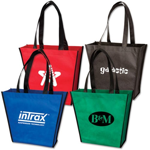 Promotional Small Handy Tote Bags with Custom Logo for $1.26 Ea.