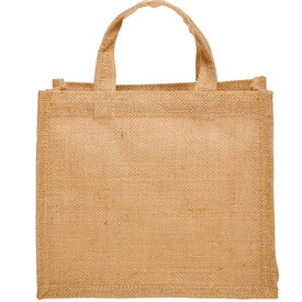 Small Jute Tote Bag