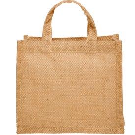 Small Jute Tote Bag