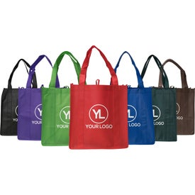 Small Non-Woven Grocery Tote Bag