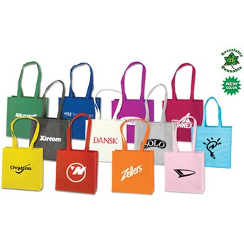 Promotional Small Tote Bags with Custom Logo for $1.18 Ea.