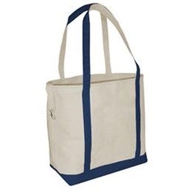 Promotional Small Accent Boat Tote Bag - Heavyweight Canvas