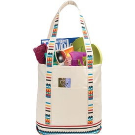 Southwest Cotton Tote Bag