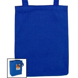 Soverna Colored Canvas Tote Imprinted with Your Logo