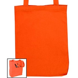 Soverna Colored Canvas Tote with Your Slogan