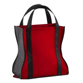 Spiffy Non Woven Tote Bag Printed with Your Logo