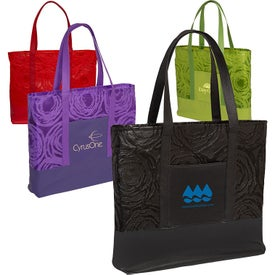 Splash Ripple Tote Bag