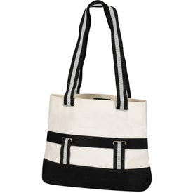 Monogrammed Montecito Grommet Tote Bag