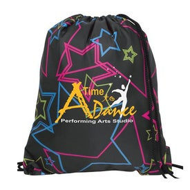 Sports League Drawcord Tote for Promotion