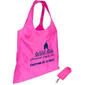 Branded Spring Sling Folding Tote Bag