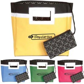 Squared Away Mini Tote Bag for Marketing
