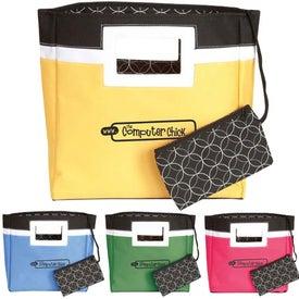 Squared Away Mini Tote Bag for Marketing