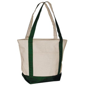 Personalized Standard Boat Tote Bag - Heavyweight Canvas