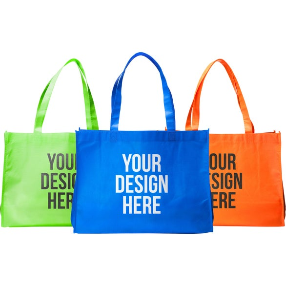 Promotional Medium Eco-Friendly Non Woven Tote Bag with Custom ...