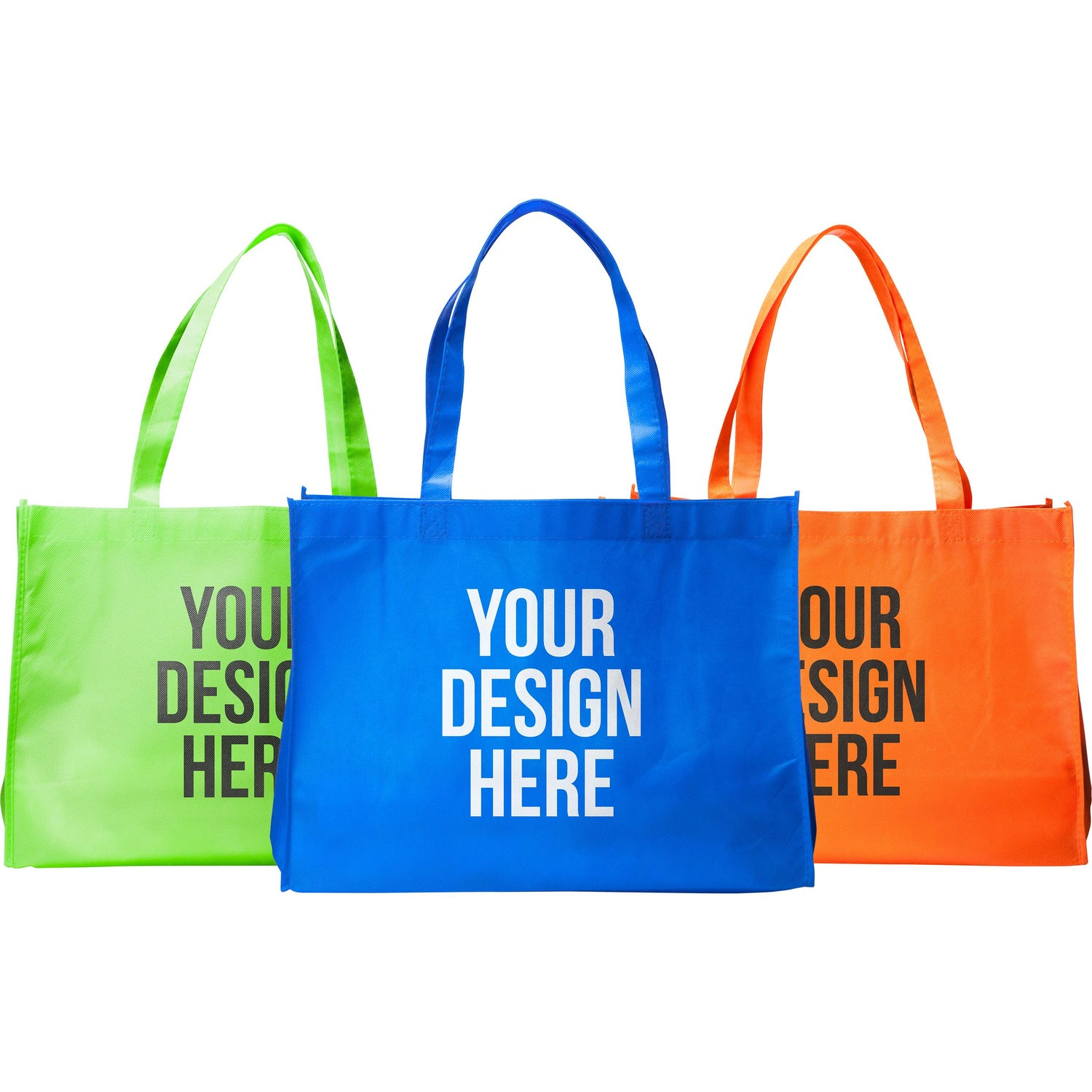 Promotional medium eco friendly non woven tote bags with