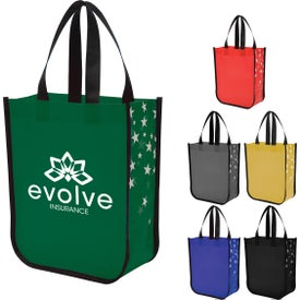 Star Struck Laminated Non-Woven Tote Bags
