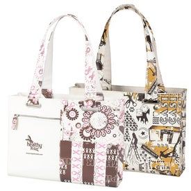 Printed Statement Tote Bag