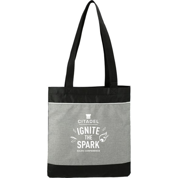 Graphite / Black Stone Convention Tote