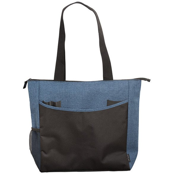 Black / Blue Strand Commuter Trade Show Tote