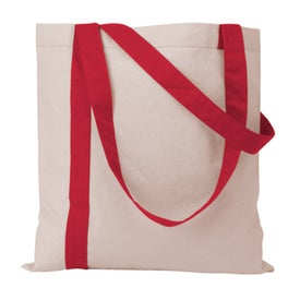 Striped Economy Tote Bag with Your Logo