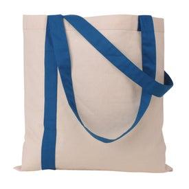Striped Economy Tote Bag for Marketing