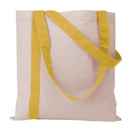 Striped Economy Tote Bag for Marketing