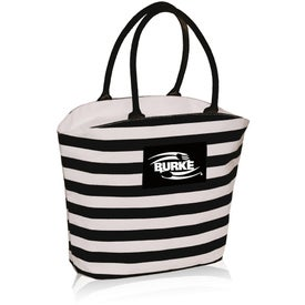 Striped Mariner Tote Bag