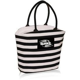 Striped Mariner Tote Bag
