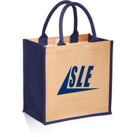 Stylish Rope Handle Jute Tote Bag