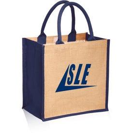 Stylish Rope Handle Jute Tote Bag