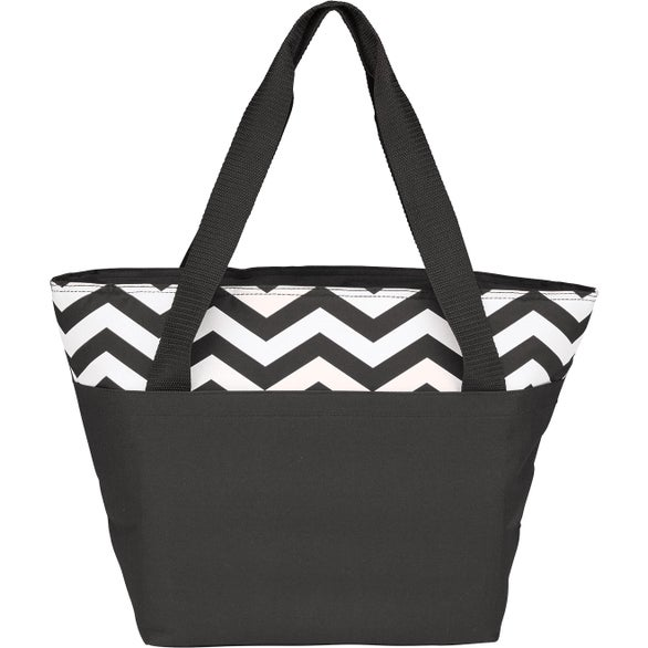 Black Summit Cooler Tote Bag