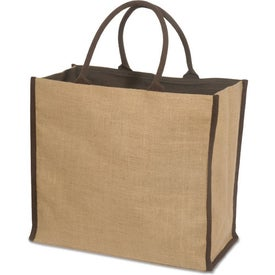 Super Jute Tote Branded with Your Logo