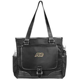 Swash Buckle Computer Tote Bag for Marketing
