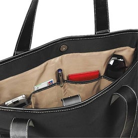 Branded Swash Buckle Computer Tote Bag